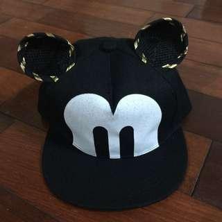 可愛耳朵造型嘻哈帽