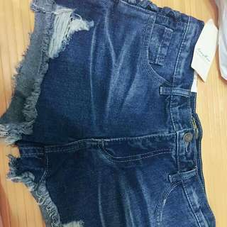 👖韓版牛仔短褲👖