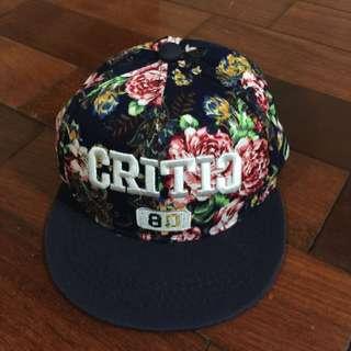 奢華風造型嘻哈帽