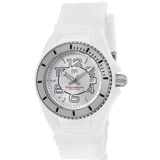 TechnoMarine – Women's Cruise Jellyfish White Silicone SS and White Silicone