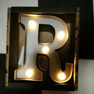 "Letter ""R"" Mini Marque Lighting"