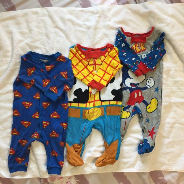 0-3個月嬰兒連身衣