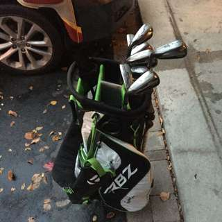 Taylor Made Rbz Clubs And Taylor Made Burner Driver And Taylor Made Bag