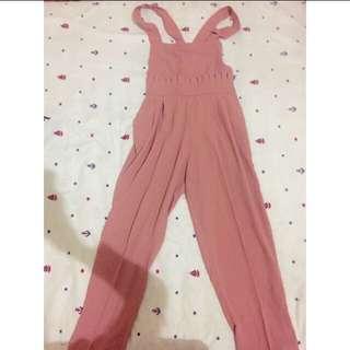 Dusty Pink Jumpsuit