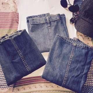 3 Pcs Denim Miniskirts 💞SALE