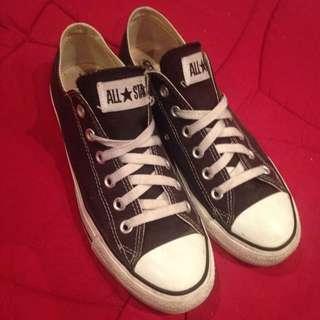 Black And White Converse Unisex