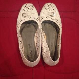 White Flats Size 8 1/2