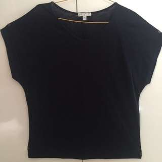 [USED] Cotton On Tee Navy Blue