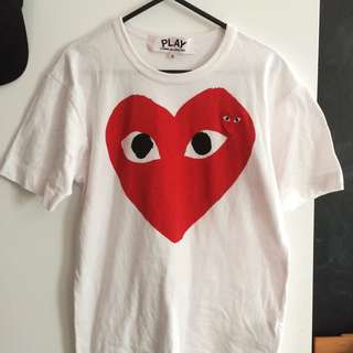 Cdg Play Shirt!!