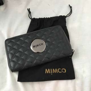 MIMCO Quilted Leather Wallet (NEGOTIABLE)