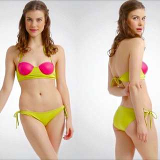 Two-Toned Bikini (Bunga Pantai Beachwear)