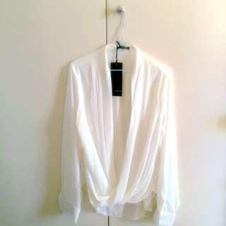 Paper Closet White Blouse
