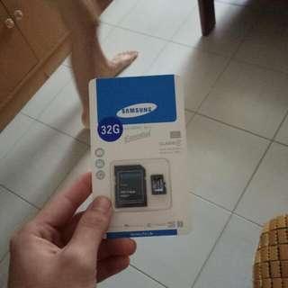 Samsung MicroSDHC Card 32Gb Class 10