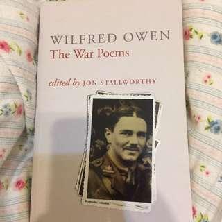 Wilfred Own War Poems