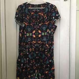 City Chic Summer Dress Size XL