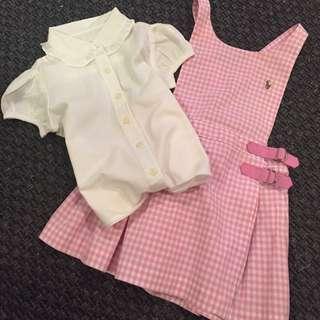 Designer Girls Dress + Shirt