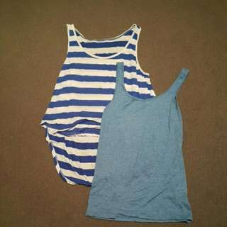 2 Basic Ladies Tank Tops $6