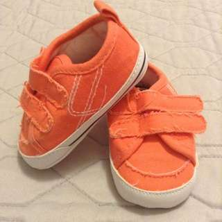 orange carter shoes