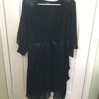 City Chic XL Sequin Detailed Evening Dress.