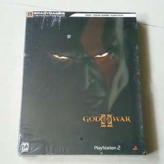 Strategy Guide God Of War 2 Linited Edition Sealed
