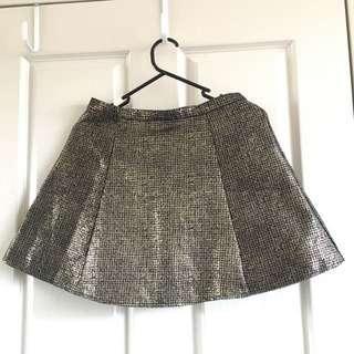 Forever 21 Sparkling Skirt