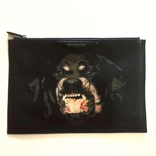 Givenchy Rottweiler Clutch