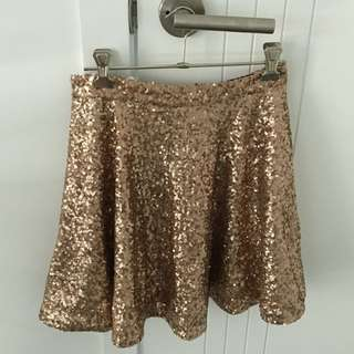 Naughts And Crosses Sequin Skirt