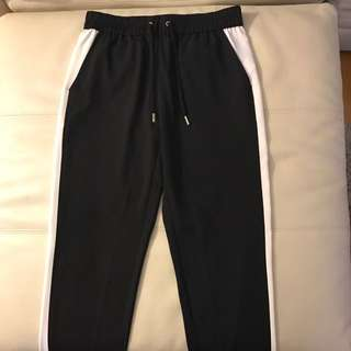 Juicy Couture White Side Panelled Dress Pants
