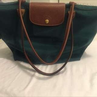 Authentic Medium Longchamp Handbag