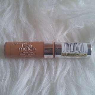 L'oreal True Match Concealer Shade: W6-W8 (Deep)