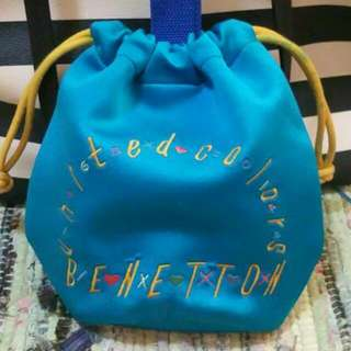 [Pre-loved] Authentic United Colors Of Benetton Mini Bucket Bag