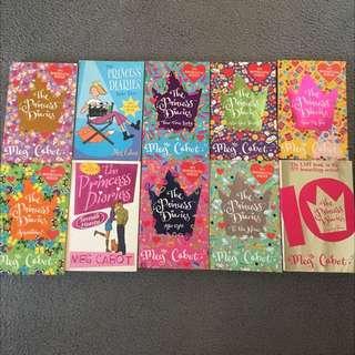 Meg Cabot Bundle - Princess Diaries Full Series And Airhead Full Series