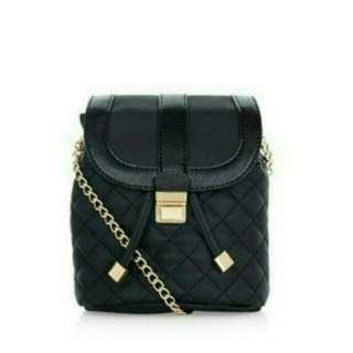 (free ongkir) new look sling bag