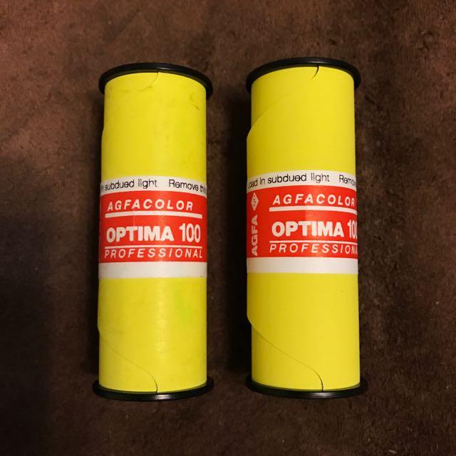120 底片 AGFA OPTIMA 100
