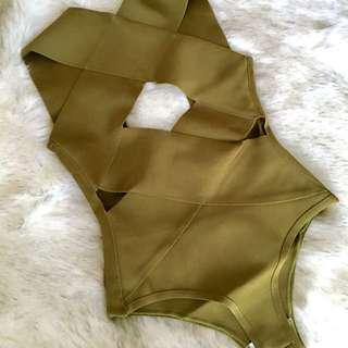 Green Slimming Bodysuit