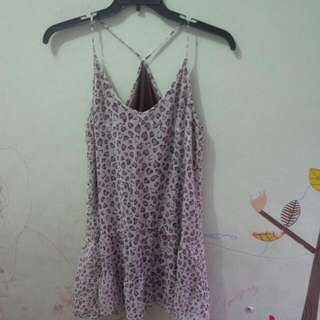Mini Dress Leopard