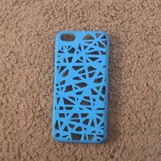 iPhone 5C Blue Hard Back Case