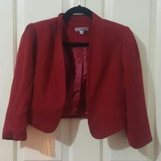 Tempt 3/4 Sleeve Blazer Jacket Size 8