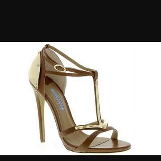 Tony Bianco Aliyah Tan Heels
