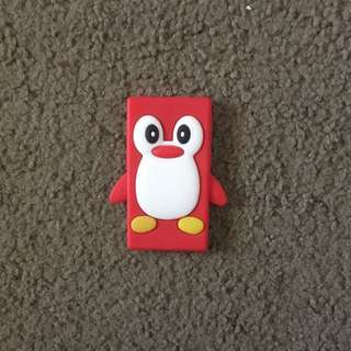 iPod Nano 4th Generation Red Penguin Case