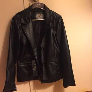 Collezioni Ladies Leather Jacket (size Medium)