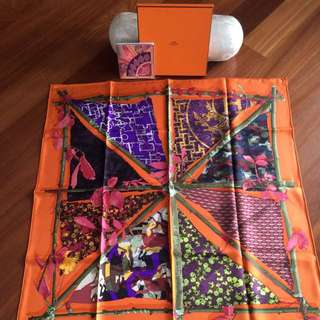 Hermes Scarf 100% Genuine In Box Brand New