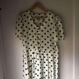 Vintage Spot Dress
