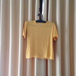 Scala Junior Yellow Top