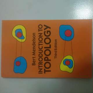 Introduction To Topology - Third Edition By Bert Mendelson