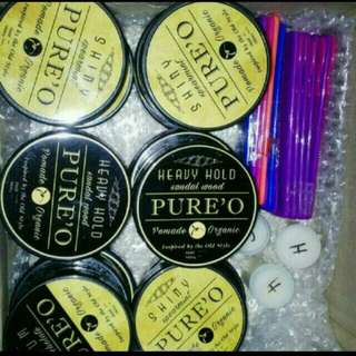 Brand New Unused Pure O Pomade No Chemical Added Xmas Promo While Stocks Last