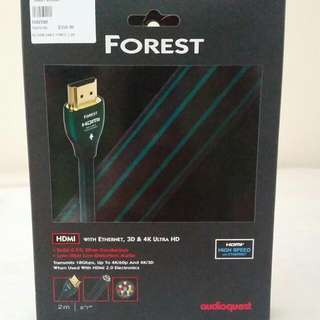 Forest HDMU with ethernet, 3D & 4K ULTRA  HD CABLE