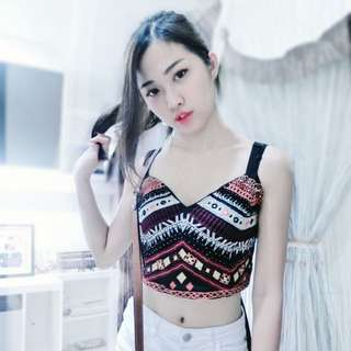 Bershka Tribal Top