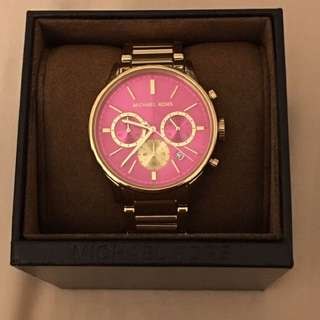 Authentic Michael Kors Preppy Runway Chronograph