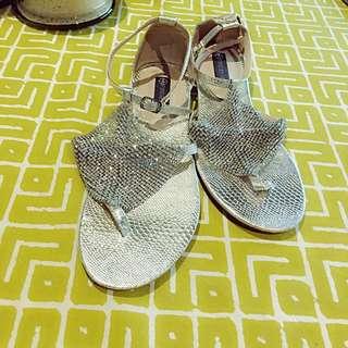 Flat Sandals Glitter Forever New